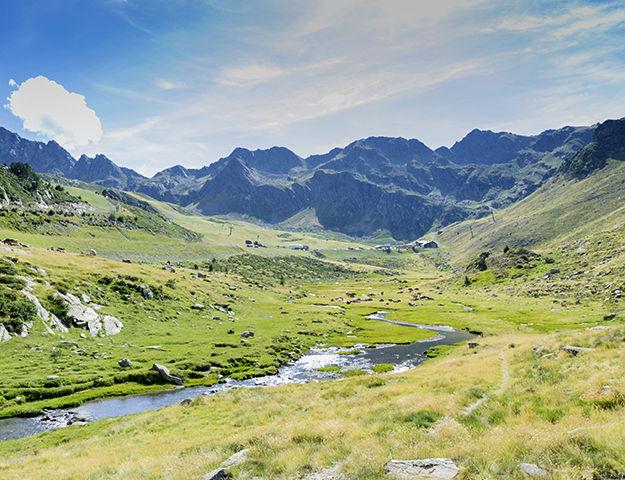 Plaza Andorra - Paysage autour d andorre la vieille