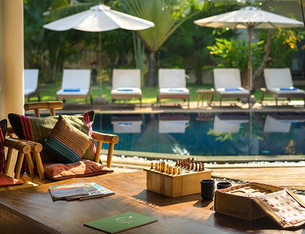 Navutu Dreams Resort Cambodia -  terrasse piscine