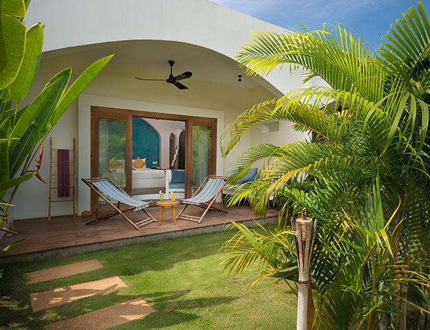 Navutu Dreams Resort Cambodia -  terrase chambre explorer