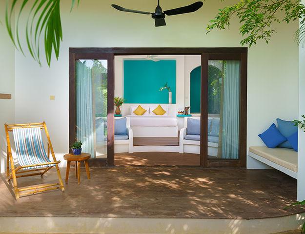 Navutu Dreams Resort Cambodia -  terrasse chambre grand tour