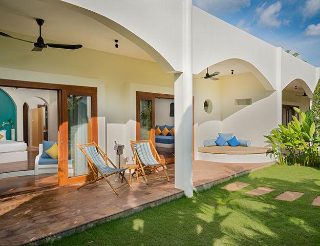 Navutu Dreams Resort Cambodia -  terrasse chambre grand suite