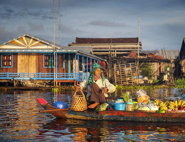 Navutu Dreams Resort Cambodia -  marche flottant cambodge_()