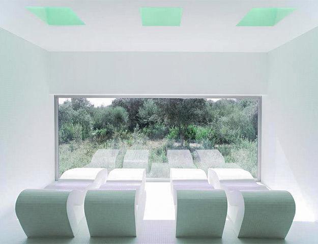 Castell dels Hams - Salle de relaxation