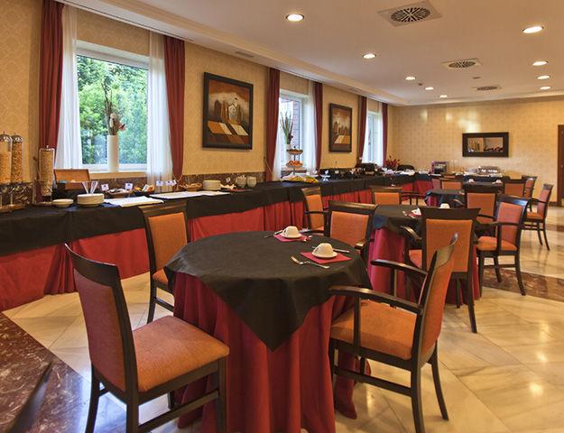 Castilla Termal Balneario de Solares - Salle du petit dejeuner