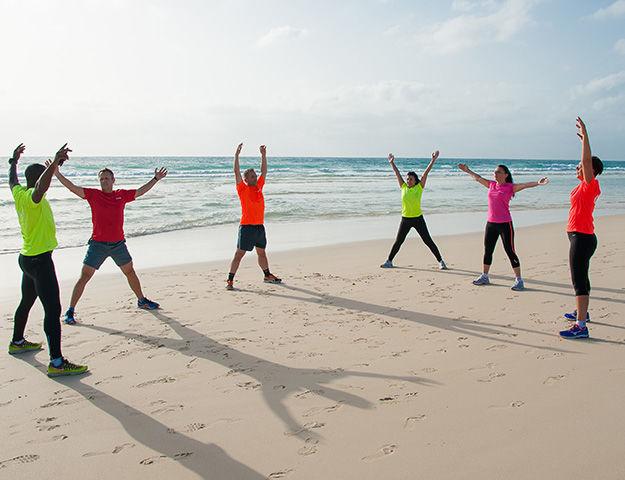 Atlantis Fuerteventura Resort - Seance d entrainement sur la plage