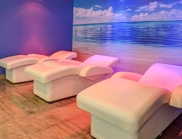 GHT Aquarium & Spa - Chaises longues relaxantes