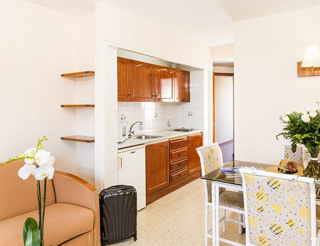 Wellness & Spa Institut GEM - Appartement cuisine et salon