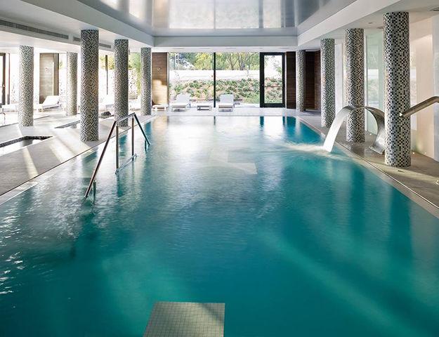 Sha Wellness Clinic - Bassins interieurs spa thermal