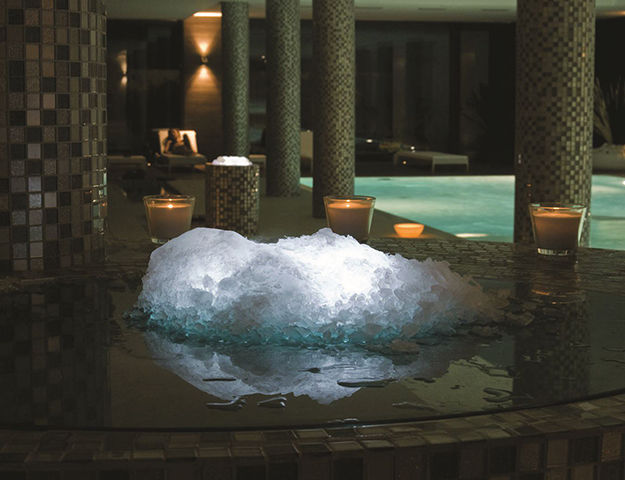 Sha Wellness Clinic - Fontaine de glace spa thermal