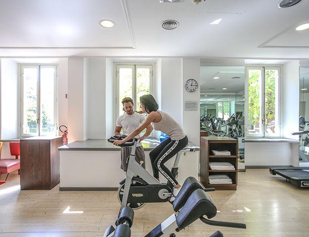 Grand Hotel Croce Di Malta - Salle de fitness