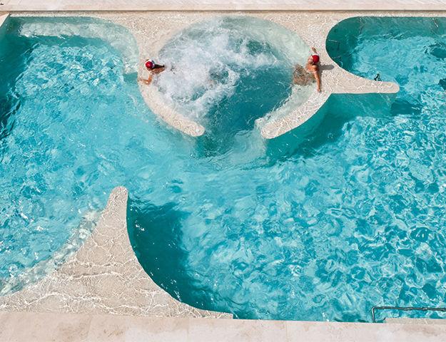 Grotta Giusti Resort Golf & Spa - Piscine thermale exterieure