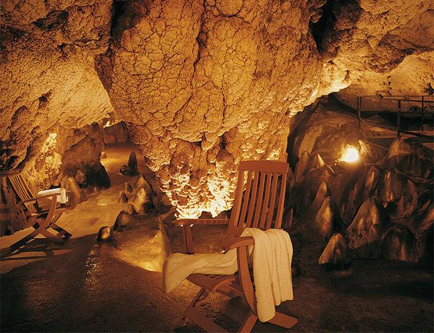 Grotta Giusti Resort Golf & Spa - Grotte naturelle du spa thermal