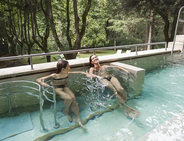 Hôtel Miralaghi - Parcours sensoriel du spa thermal theia