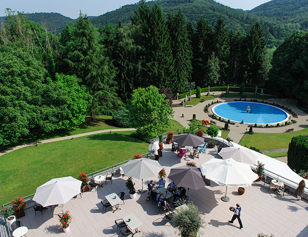 Romantik Hotel Bel-Air Sport&Wellness - Terrasse