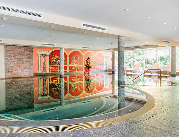 Romantik Hotel Bel-Air Sport&Wellness - Piscine interieure
