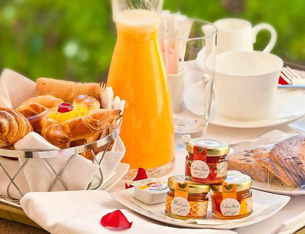 AG Hôtel & Spa - Petit dejeuner