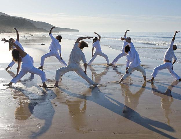 Paradis Plage Surf, Yoga & Spa Resort -  yoga plage