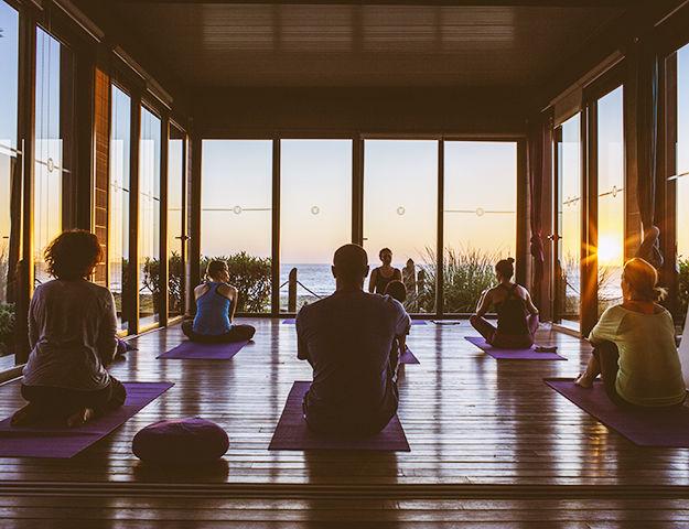Paradis Plage Surf, Yoga & Spa Resort - Yoga shala