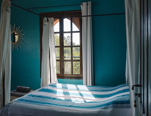 Séjour bien-être et médecines douces au Maroc - Chambre riad