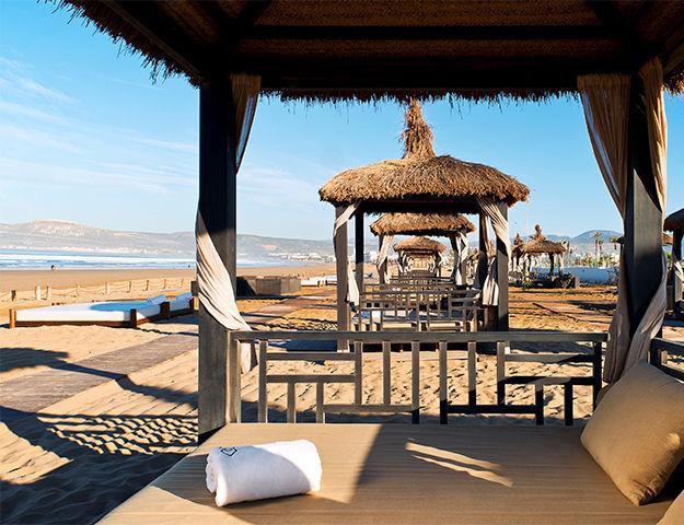 Sofitel Agadir Thalassa Sea & Spa - Plage privee