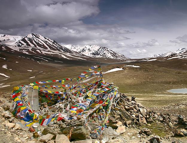 Séjour yoga et méditation, immersion au Népal - Drapeau himalaya