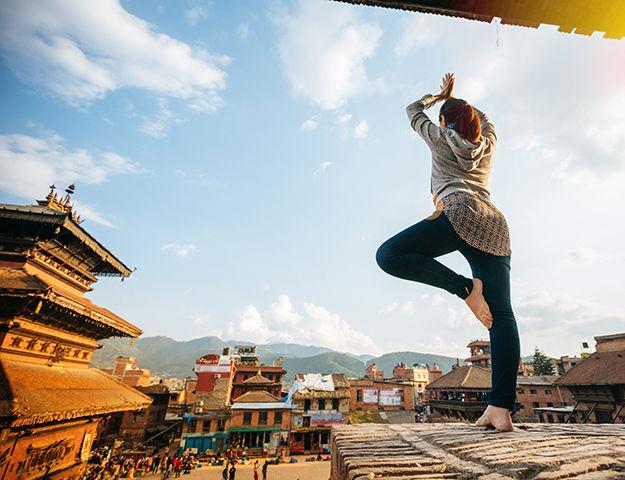 Séjour yoga et méditation, immersion au Népal - Yoga au nepal