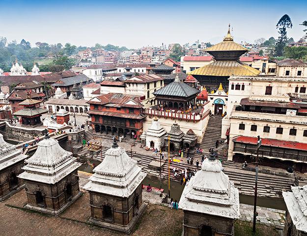 Séjour yoga et méditation, immersion au Népal - Pashupatinath temple