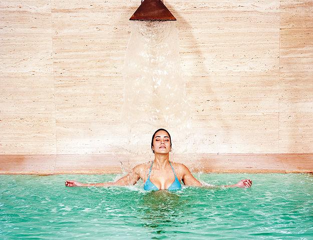 Hotel Solverde Spa & Wellness Center - Bassin avec jets hydromassant