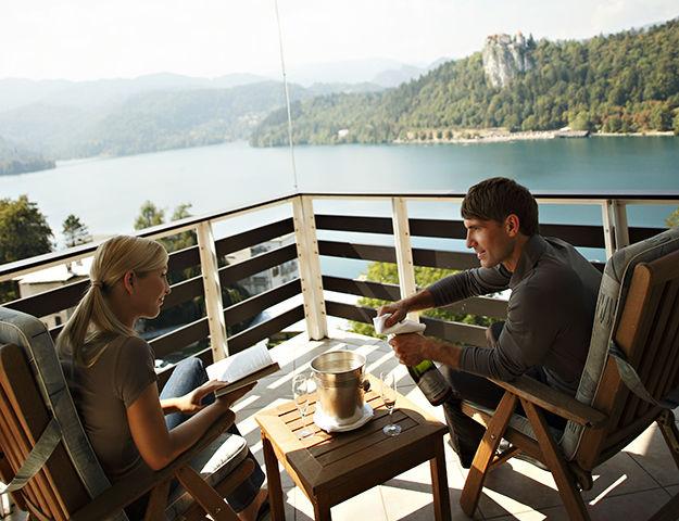 Voyage bien-être en liberté en Slovénie - Hebergement vue lac