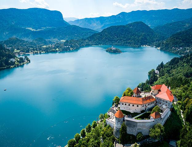 Voyage bien-être en liberté en Slovénie - Lac bled