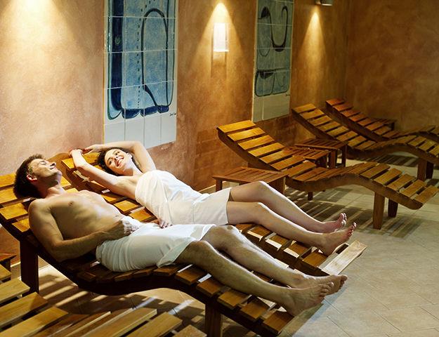 Voyage bien-être en liberté en Slovénie - Sauna relax salinera
