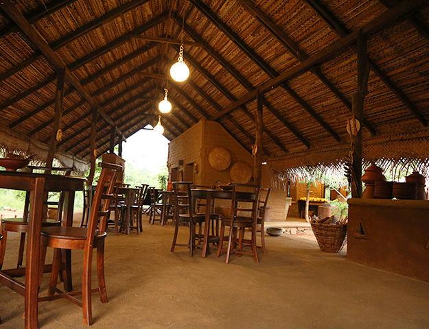 Athreya Ayurveda Ashram - Restaurant
