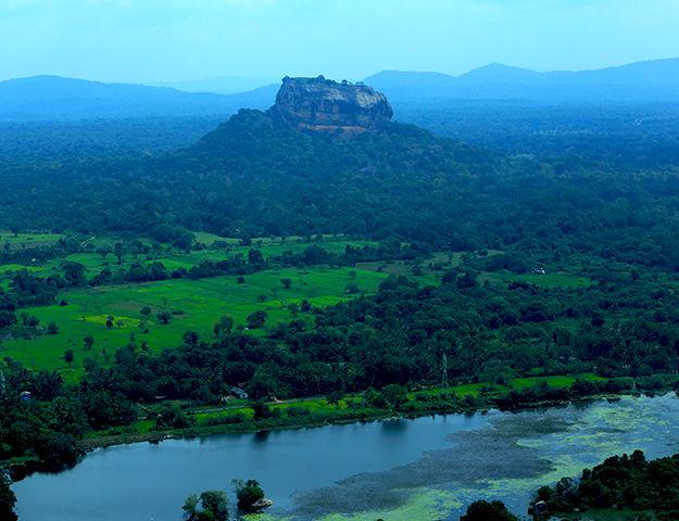 Circuit ayurvéda et yoga au cœur du Sri Lanka - Vue sur sigiriya