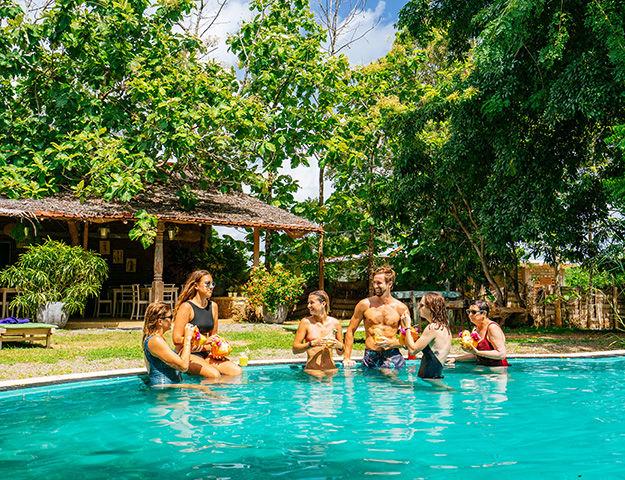 Circuit yoga et ayurvéda au Sri-Lanka - Saraii village