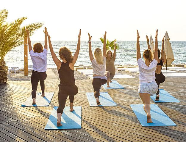 Radisson Blu Palace Resort & Thalasso Djerba - Yoga_djerba_plage