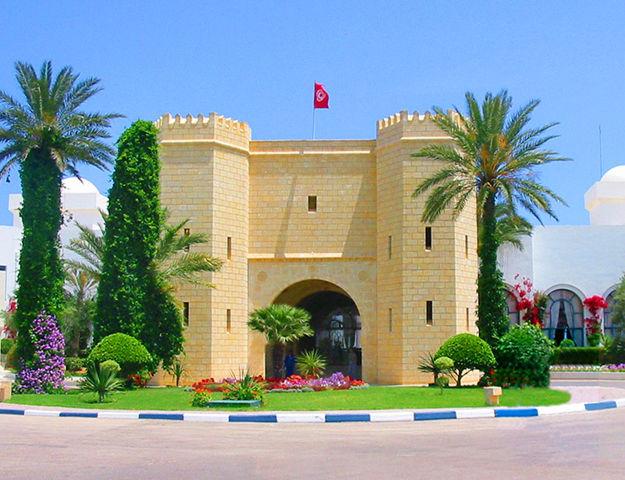 Mahdia Palace - Entree hotel