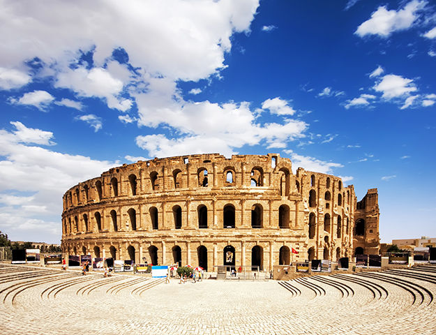 Mahdia Palace - Amphitheatre el jem