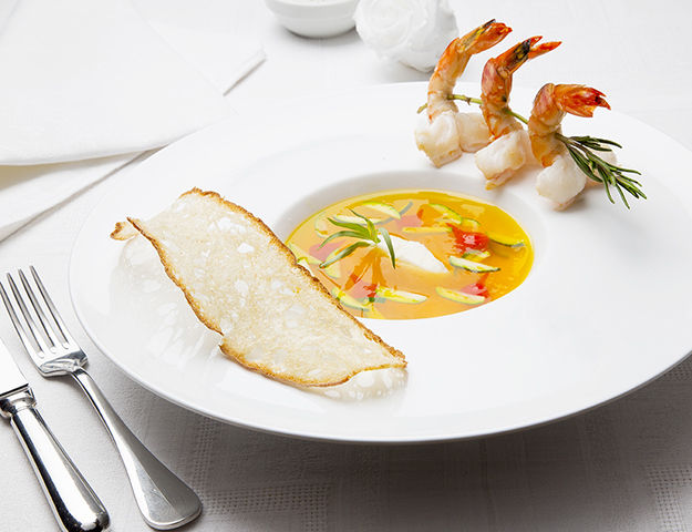 Domaine du Levant - Cuisine du restaurant
