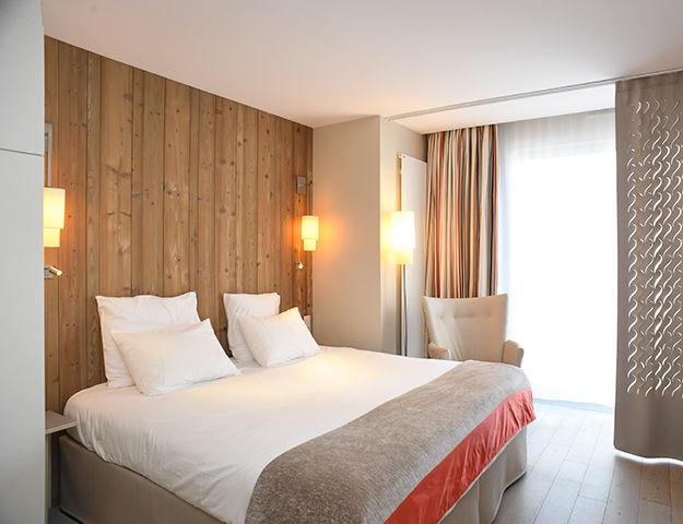 Hôtel de la Baie & Thalasso Prévithal - Chambre vue jardni