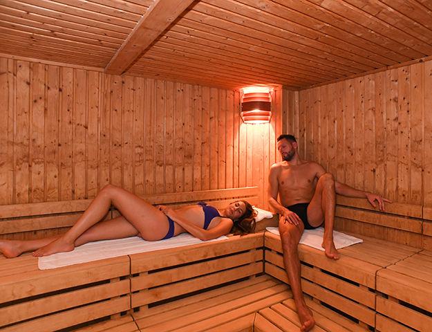 Hôtel de la Baie & Thalasso Prévithal - Sauna