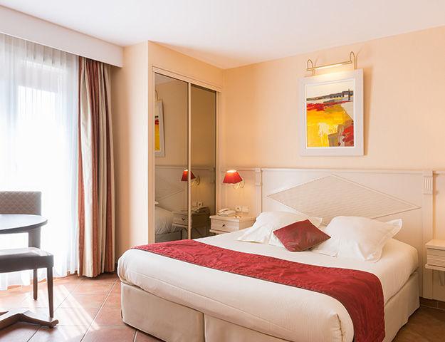 Résidence la Closerie Deauville - Chambre confort