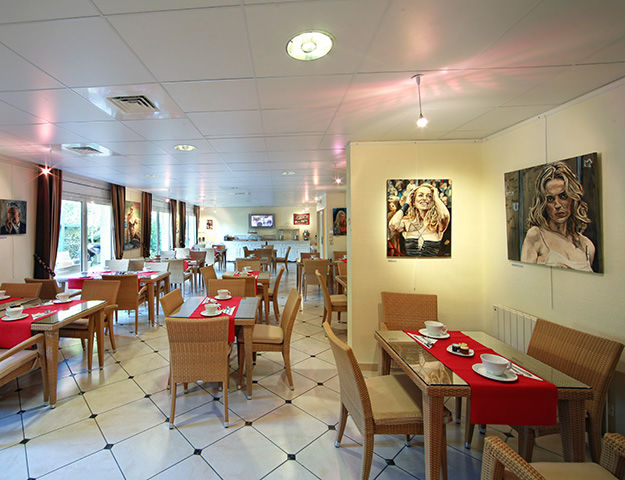 Résidence la Closerie Deauville - Salle du petit dejeuner