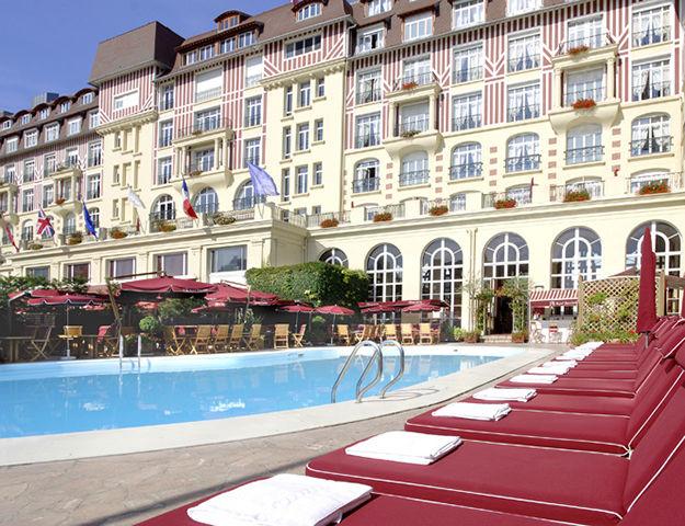 Royal Barrière Deauville - Piscine hotel