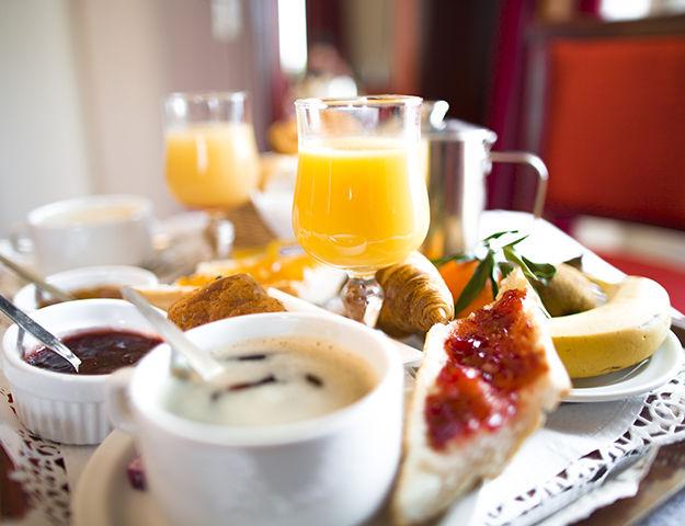 Le Grand Hôtel Abbatiale - Petit dejeuner