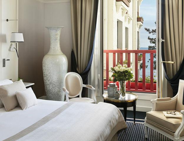 Hôtel Barrière Hermitage La Baule - Chambre prestige mer