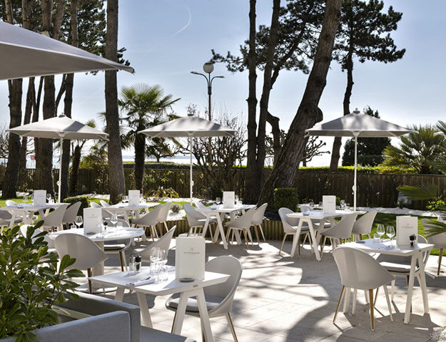 Hôtel Barrière Hermitage La Baule - Restaurant la terrasse