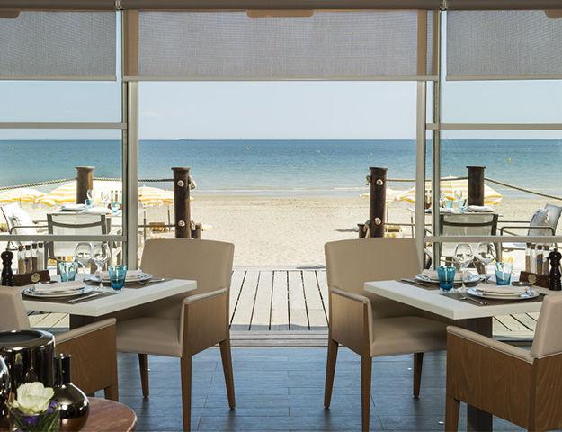 Hôtel Barrière Hermitage La Baule - Restaurant eden beach