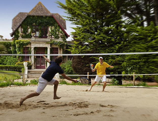 Hôtel Barrière Hermitage La Baule - Tennis sable