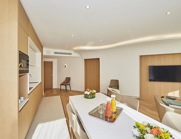 Résidence Miramar La Cigale Thalasso & Spa - Cuisine appartement