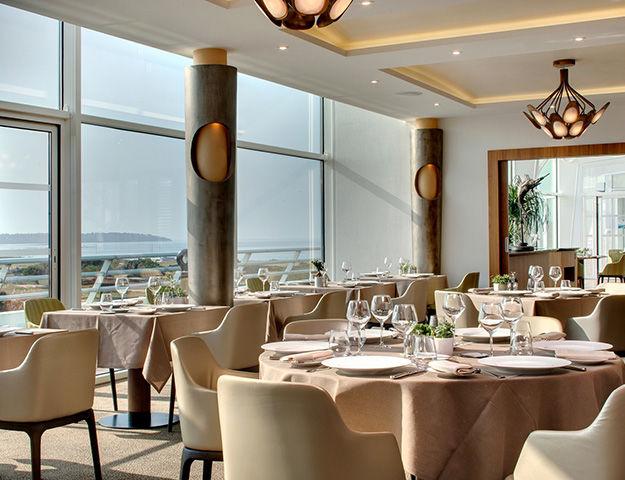 Résidence Miramar La Cigale Thalasso & Spa - Salle du restaurant le safran de l hotel le miramar
